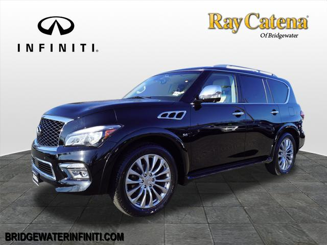 Certified Pre-Owned 2016 INFINITI QX80 Base